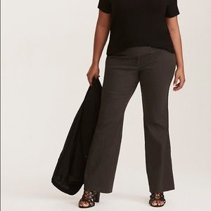 Torrid | Charcoal Gray Relaxed Trouser Pants